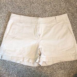 New York and Company Light Khaki Shorts